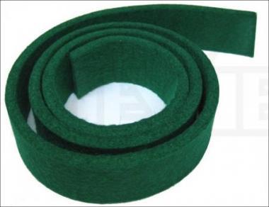 Фенгерный войлок зеленый 4 мм 85 х 3 см