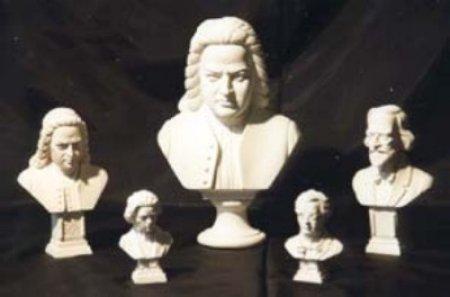 Бетховен (бюст) 17 см.