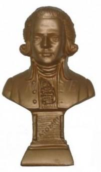 Моцарт (бюст) 17 см.